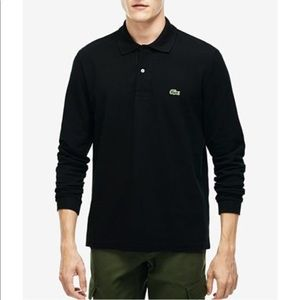 Lacoste long sleeved polo 💕
